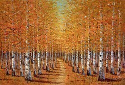 Autumn V by Inam -  sized 59x39 inches. Available from Whitewall Galleries